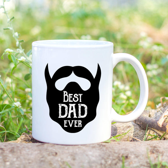 Personailsed Best dad ever Mug - Sew Tilley