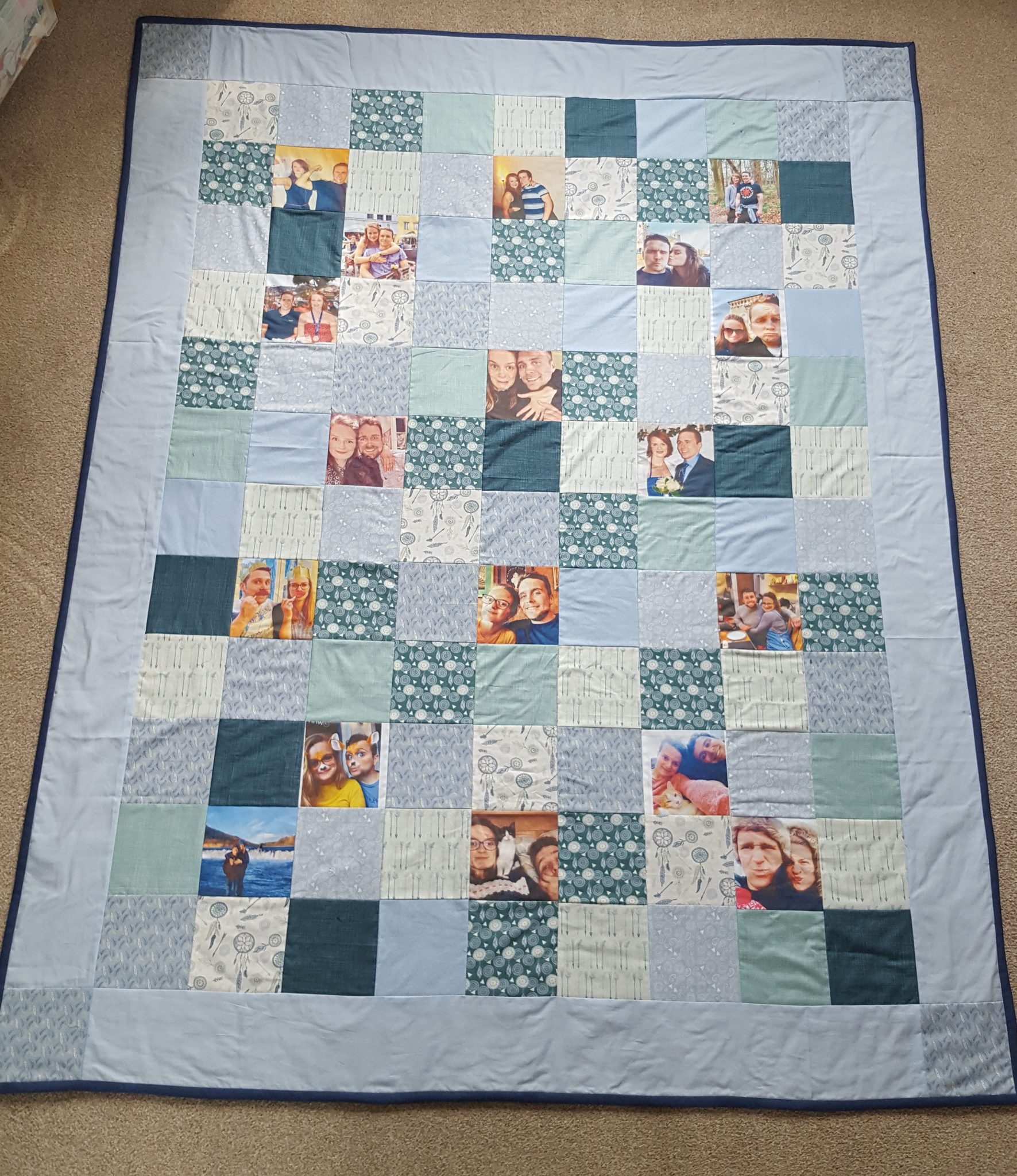 Photo Memory keepsake blankets - Sew Tilley