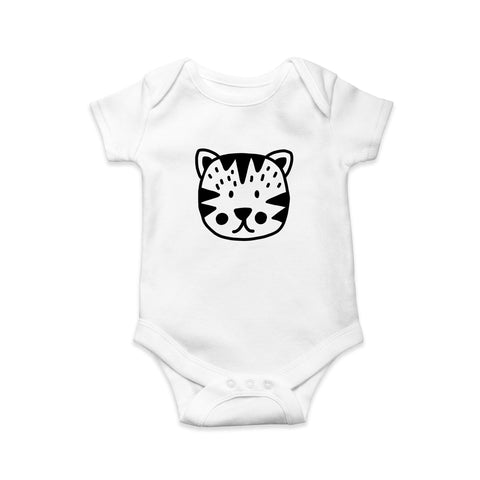 Cat baby body suit - Sew Tilley