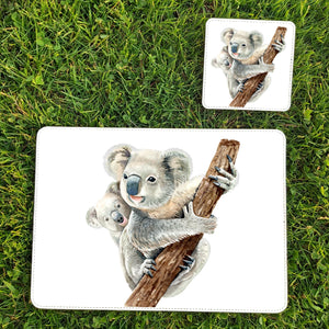 Koala placemats and coaster sets by Sew Tilley