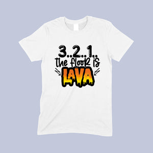Child's lava t-shirt