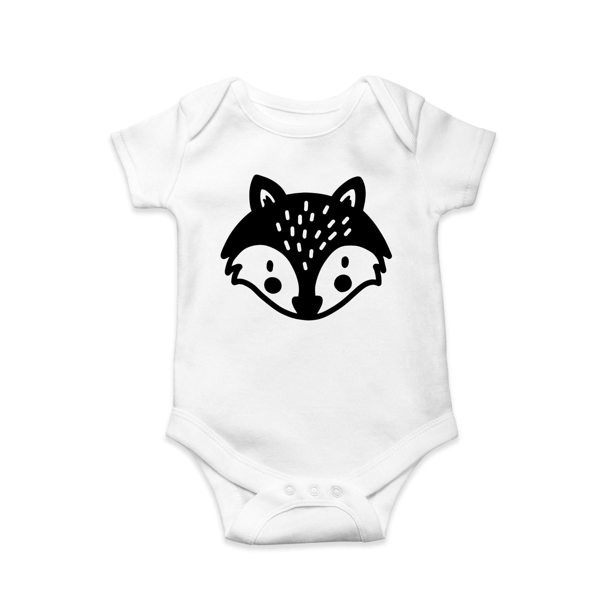 Fox baby body suit - Sew Tilley