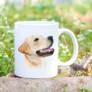 Golden labrador Personalised Mug - Sew Tilley