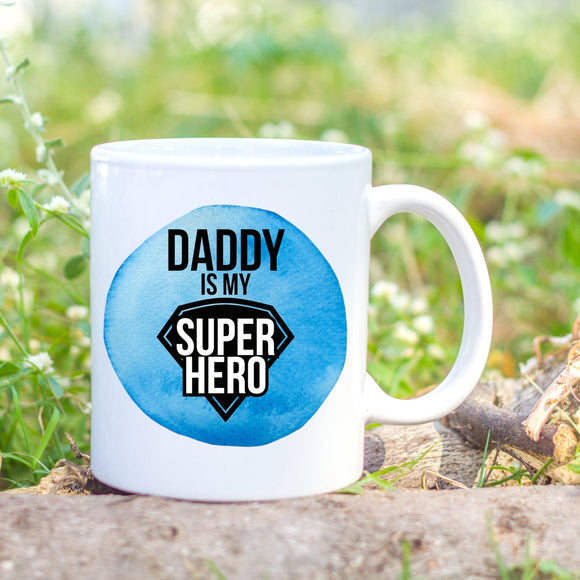 Blue Super hero mug - Sew Tilley