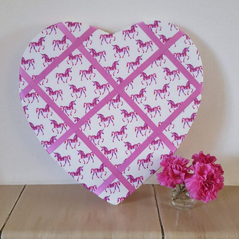 Heart memo board - Sew Tilley