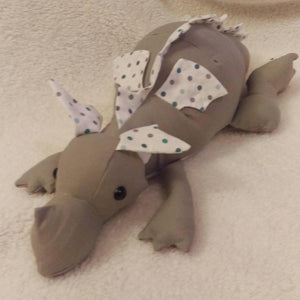 Memory keepsake dragon - Sew Tilley