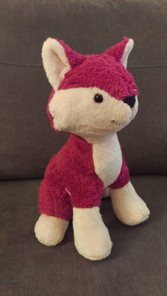 Memory keepsake fox - Sew Tilley