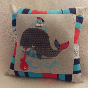 Memory keepsake cushion - Sew Tilley