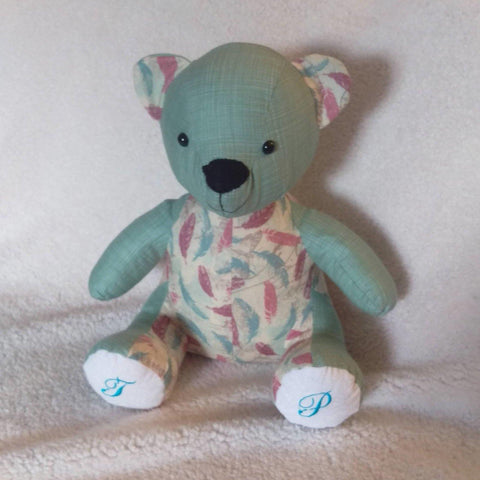 Memory keepsake bear melody - Sew Tilley