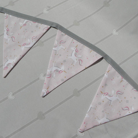 Unicorn Pink Bunting - Sew Tilley