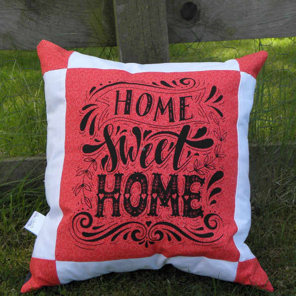 Home sweet home cushion - Sew Tilley