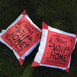 Home sweet home cushion cover - Sew Tilley