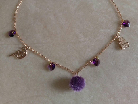 Sugar plum fairy necklace - Sew Tilley