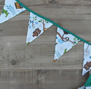 Green Jungle Bunting - Sew Tilley