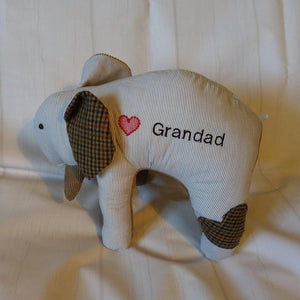 Memory keepsake elephant