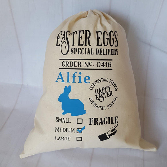 Personalised Easter Sack - Sew Tilley