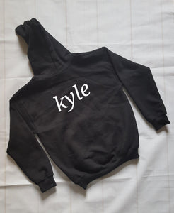 Childs personalised Name Hoodie - Sew Tilley