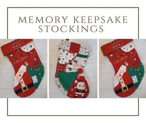Memory Christmas stocking - Sew Tilley