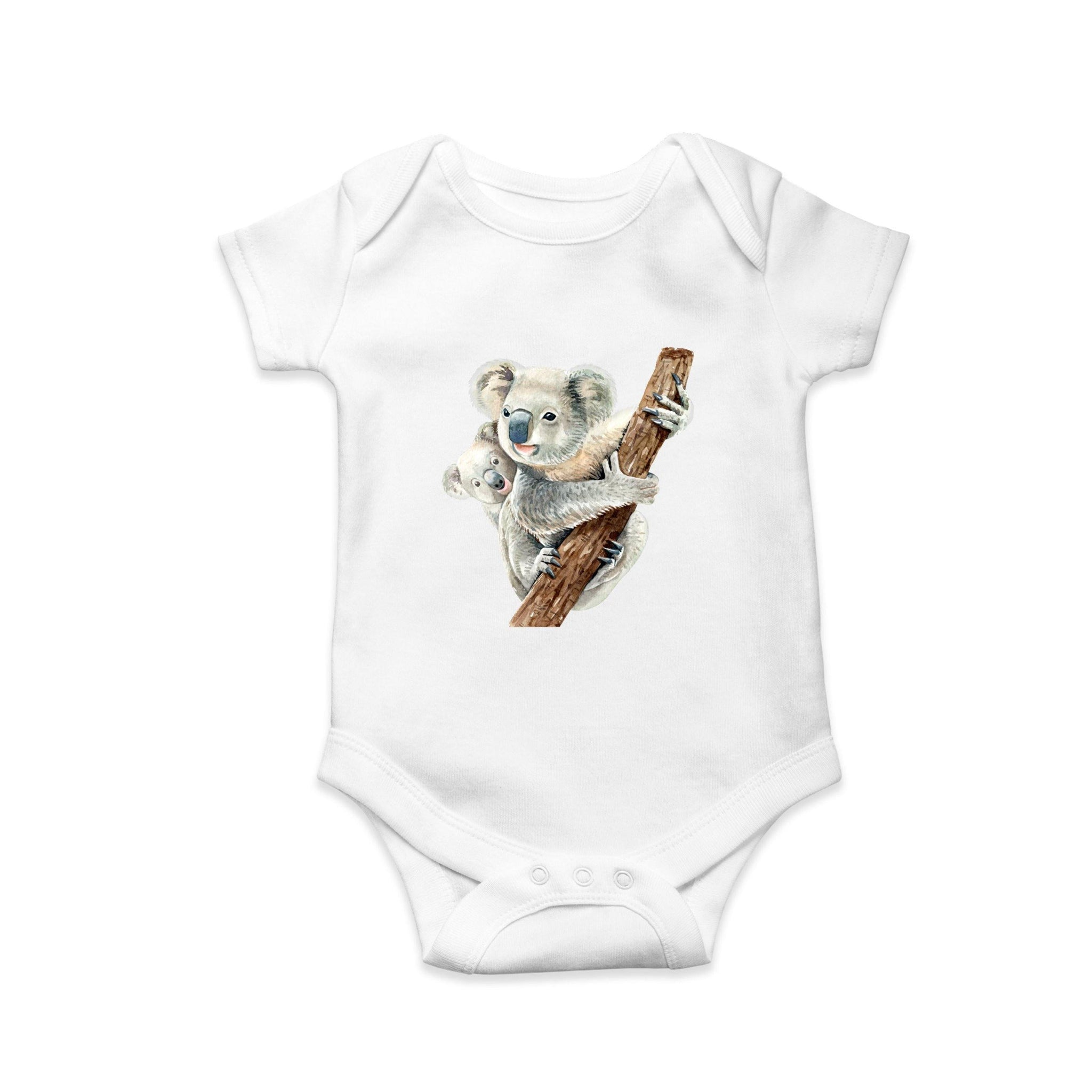 Koala baby body suit - Sew Tilley