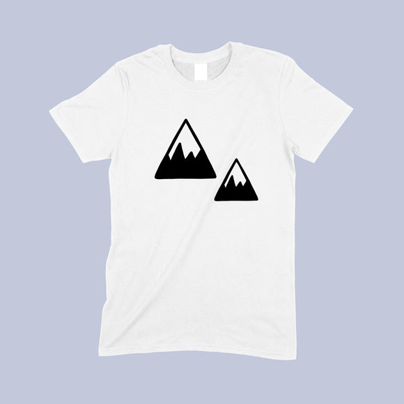 Mono mountain T-shirt - Sew Tilley