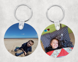 Photo keyring - Heart double sided - Sew Tilley