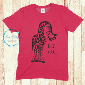 Child's Giraffe T-shirt - Sew Tilley
