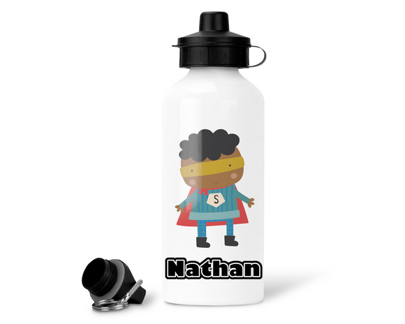 Superhero water bottle - Sew Tilley
