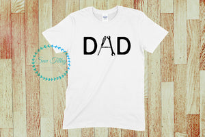Men's DAD t-shirts - Sew Tilley