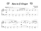 Aire in F Major - Level 1