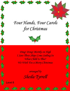 Four Hands Four Carols Level 8