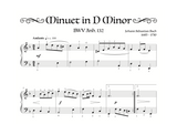 Minuet in D Minor - Level 4