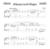 Minuet in G Major - Level 3