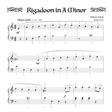 Rigadoon in A minor - Level 4