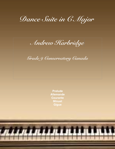 Dance Suite in C Major (5 mov'ts PDF) Level 9