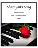 Sharayah's Song (Single) LEVEL 7