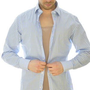 Olen undercover - hidden undershirt won't be seen under your dress shirt