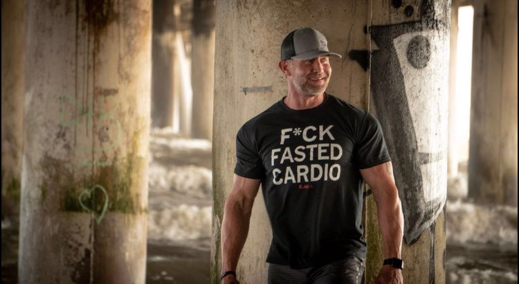 F*CK FASTED CARDIO Statement Tee (Unisex)