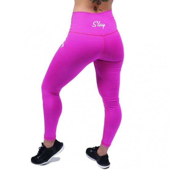 Pink High Waisted Leggings