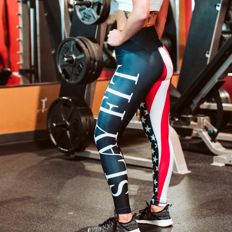 Stars & Stripes Leggings