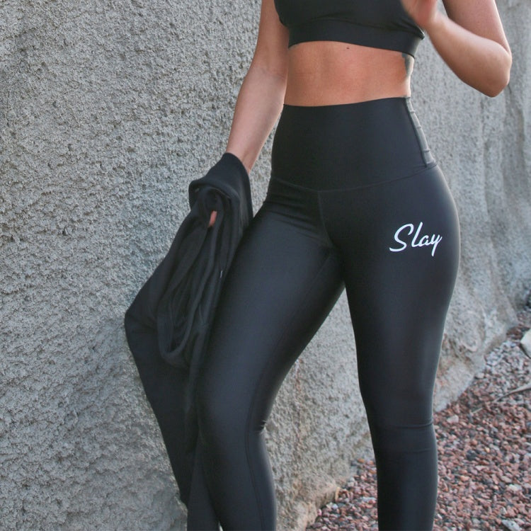 Black High Wasted Leggings