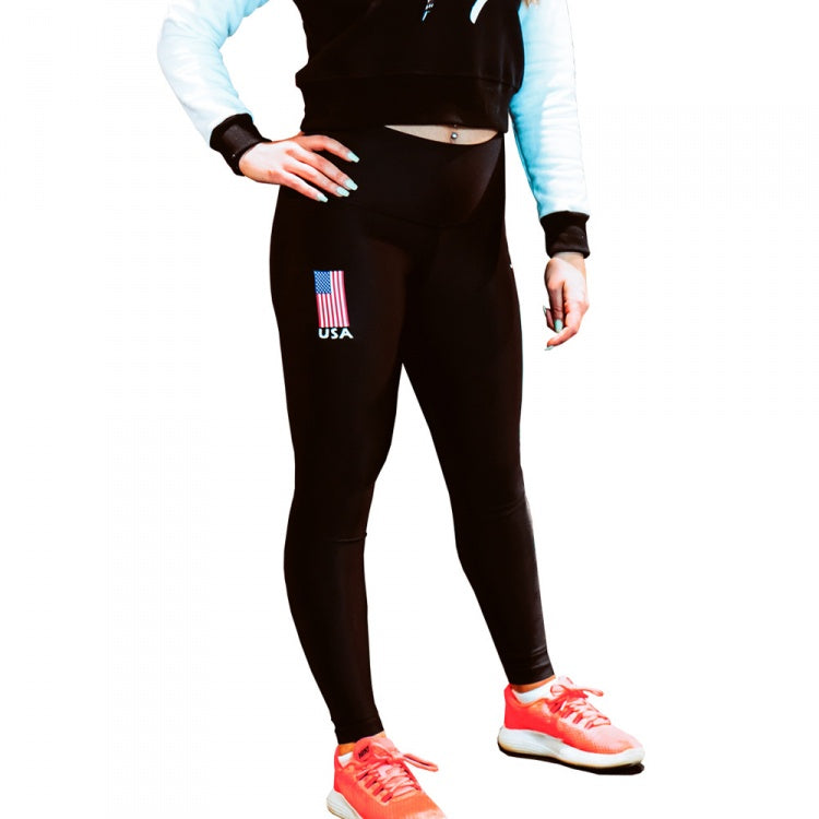 USA Flag leggings