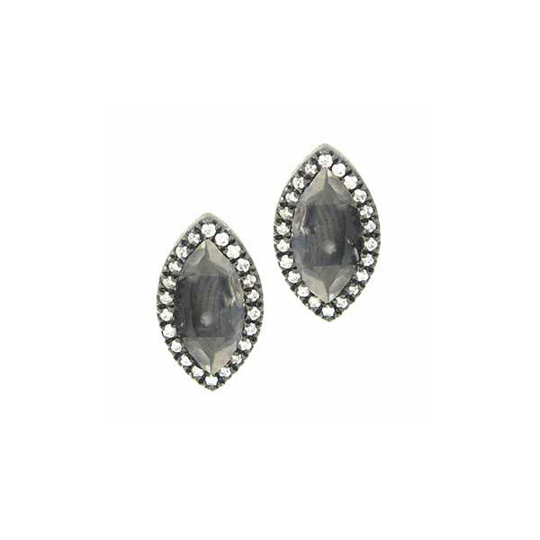 Moonstone Marquis Earrings