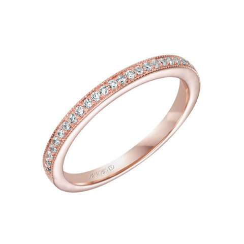 Rose Gold Calla Band