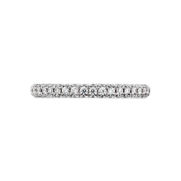 Euphoria Diamond Pave Wedding Band - Hearts On Fire