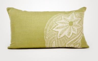 Sea Fern Linen Pillows - Stripe -SOLD OUT