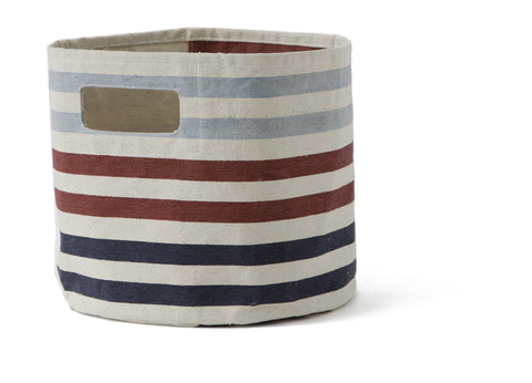 Striped Canvas Pint