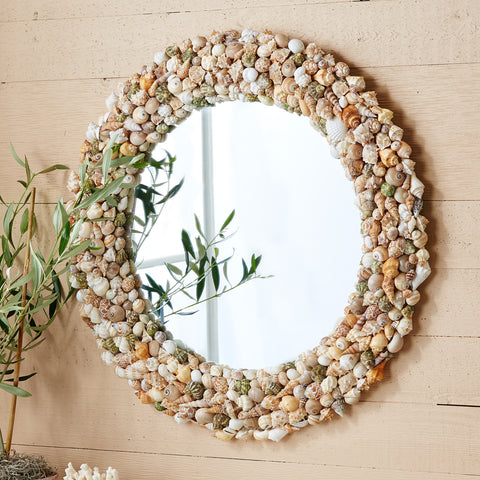 Coquillage Natural Shell Mirror - Sold Out!