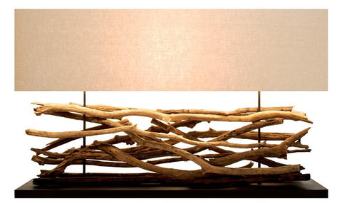 Teak Sticks Lamp - Extra Large