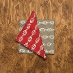 Anchor Chain Linen Napkins -SOLD OUT