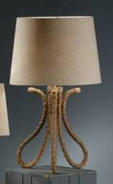 Curves Rope Table Lamp
